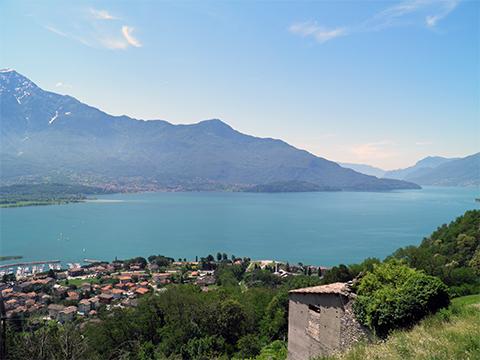 Bilder Ferienwohnung Alan__26_Panorama in Comer See Lombardei