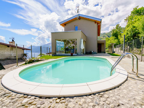 Picture of Lake Como apartment Alex71_Secondo_Gera_Lario_15_Pool