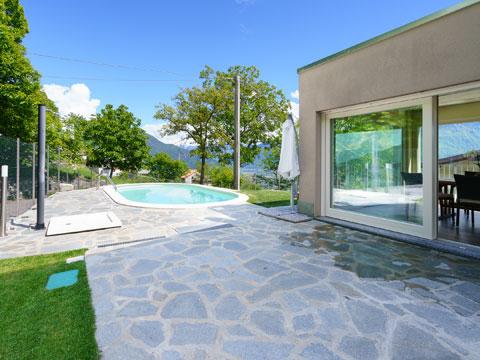 Bilder Ferienwohnung Alex71_Secondo_Gera_Lario_20_Garten in Comer See Lombardei