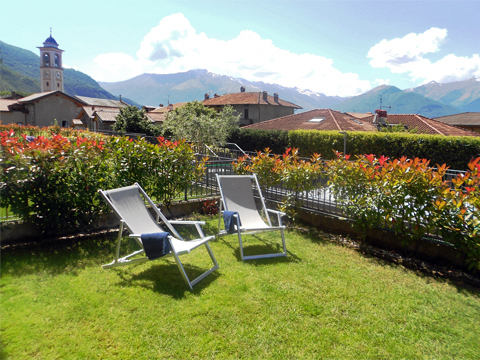 Picture of Lake Como apartment Barbarossa_Colico_20_Garten