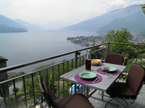 Picture of Lake Como apartment Barolo_Gravedona_10_Balkon