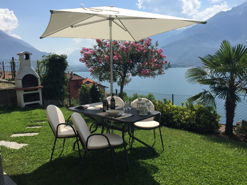 Picture of Lake Como apartment Bella_Vista_Primo_Vercana_20_Garten