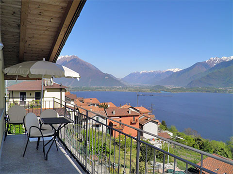Picture of Lake Como apartment Bella_Vista_Secondo_Vercana_10_Balkon