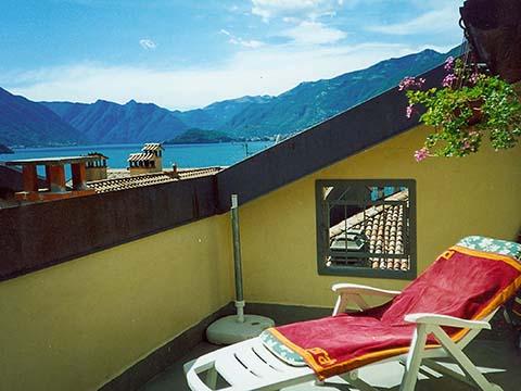 Bild von ferienhaus am Comersee Bellavista_Bellagio_10_Balkon