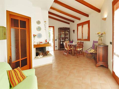 Bilder Villa Carina_54__31_Wohnraum in Sizilien Nordküste Sizilien