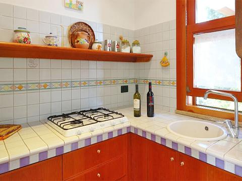 Bilder Villa Carina_54__35_Kueche in Sizilien Nordküste Sizilien