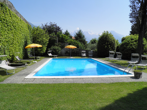 Bilder Ferienwohnung Cedro_102__Domaso_15_Pool in Comer See Lombardei
