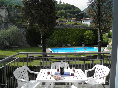 Picture of Lake Como apartment Cedro_309_Domaso_10_Balkon