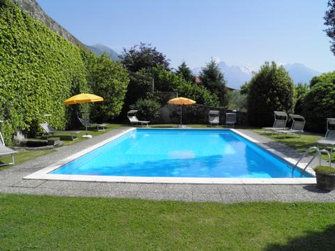 Bilder Ferienwohnung Cedro_311_Domaso_15_Pool in Comer See Lombardei