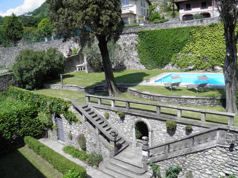Bilder Ferienwohnung Cedro_311_Domaso_20_Garten in Comer See Lombardei