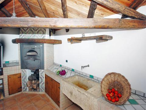 Bilder Villa Chiara_43__36_Kueche in Sizilien Nordküste Sizilien