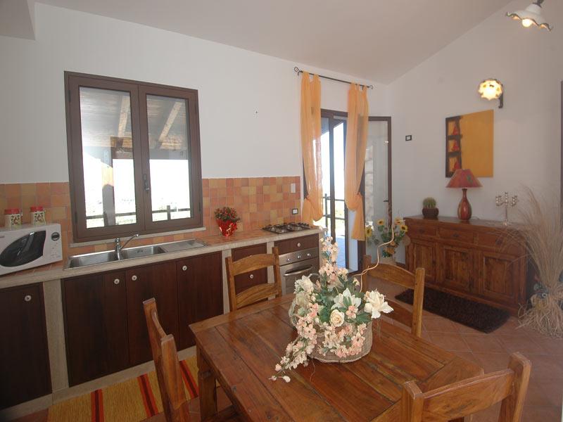 Bilder Ferienhaus Clarissa_Castellammare_del_Golfo_35_Kueche in