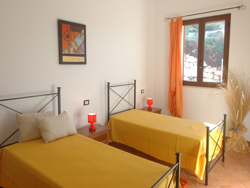 Bilder Ferienhaus Clarissa_Castellammare_del_Golfo_45_Schlafraum in
