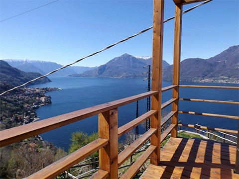 Picture of Lake Como apartment Collina_Bellano_10_Balkon