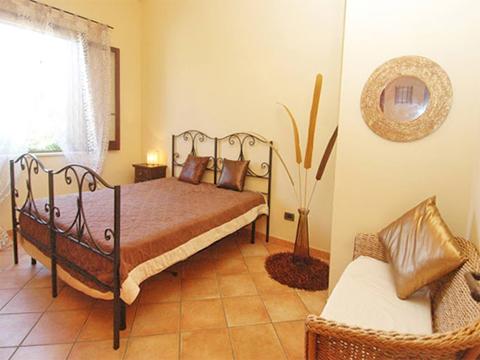 Bilder Villa Dei_Sassi_55__41_Doppelbett in Sizilien Nordküste Sizilien