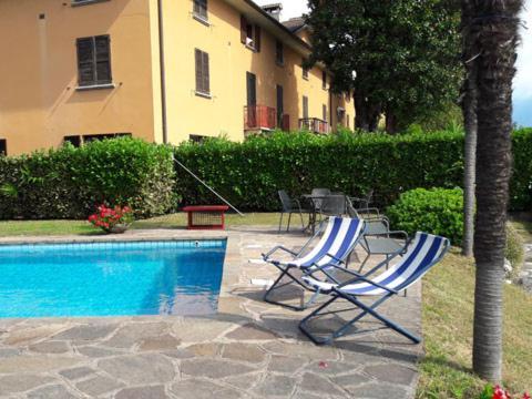 Bilder Ferienwohnung Comer See Fantastico_Domaso_16_Pool in Lombardei