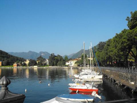 Bilder Ferienwohnung Comer See Fiorita_Lenno_65_Strand in Lombardei