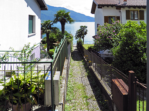 Bilder Ferienresidenz Flori_Gera_Lario_65_Strand in Comer See Lombardei