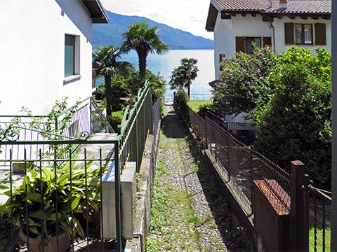 Bilder Ferienwohnung Comer See Flori_Gera_Lario_65_Strand in Lombardei
