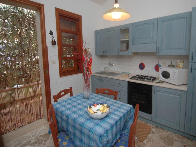 Bilder Villa Guidaloca_Castellammare_del_Golfo_35_Kueche in Sizilien Nordküste Sizilien