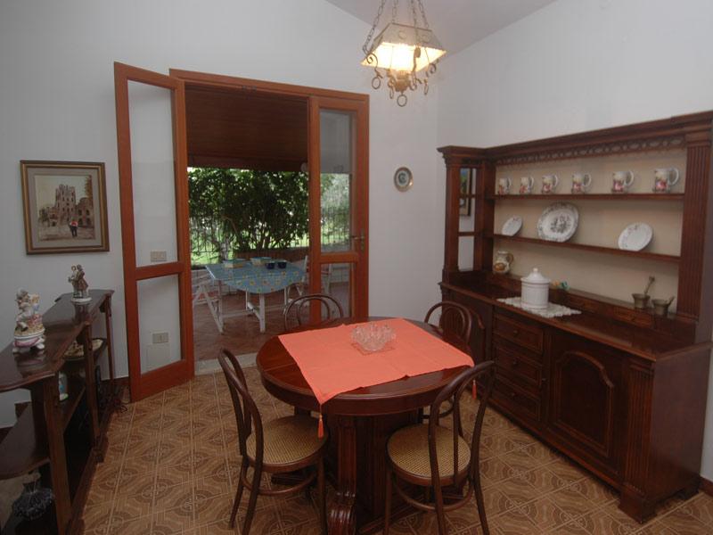 Bilder Villa Guidaloca_Castellammare_del_Golfo_36_Kueche in Sizilien Nordküste Sizilien