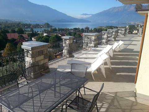 Bilder Wellness Ferienwohnung I_Runchet_Airone_Sorico_11_Terrasse in Comer See Lombardei