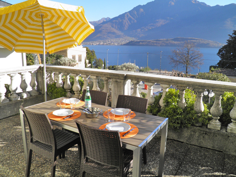 Picture of Lake Como apartment Il_Bosso_203_Domaso_10_Balkon