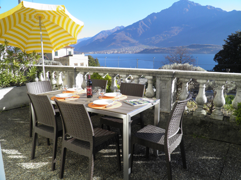 Picture of Lake Como apartment Il_Bosso_204_Domaso_10_Balkon
