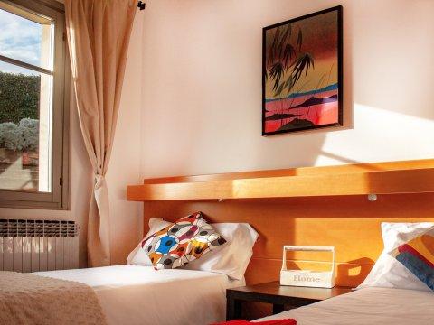 Bilder Ferienhaus Il_Bosso_204_Domaso_45_Schlafraum in Comer See Lombardei
