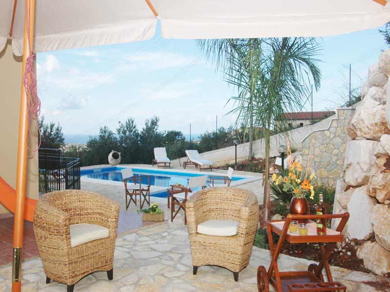 Bilder Villa Juliette_Castellammare_del_Golfo_11_Terrasse in Sizilien Nordküste Sizilien