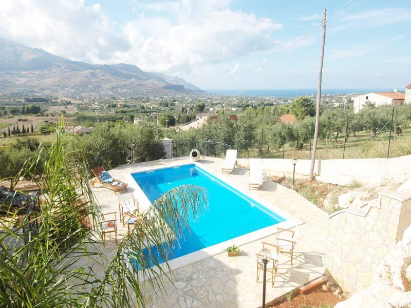 Bilder Villa Juliette_Castellammare_del_Golfo_15_Pool in Sizilien Nordküste Sizilien