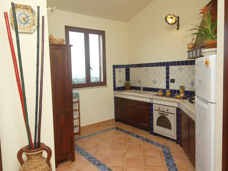 Bilder Villa Juliette_Castellammare_del_Golfo_35_Kueche in Sizilien Nordküste Sizilien
