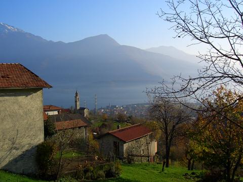 Bilder Ferienwohnung Loredana_Gravedona_60_Landschaft in Comer See Lombardei