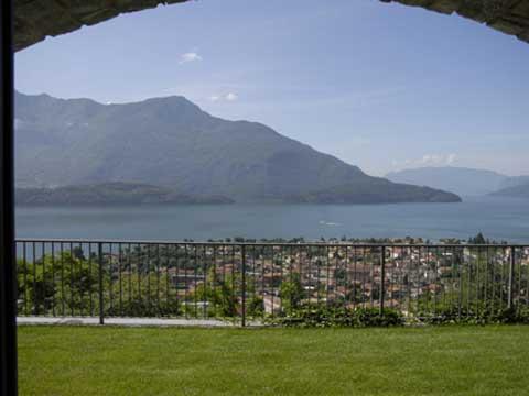 Bilder Ferienwohnung Comer See Lucia_Vercana_26_Panorama in Lombardei