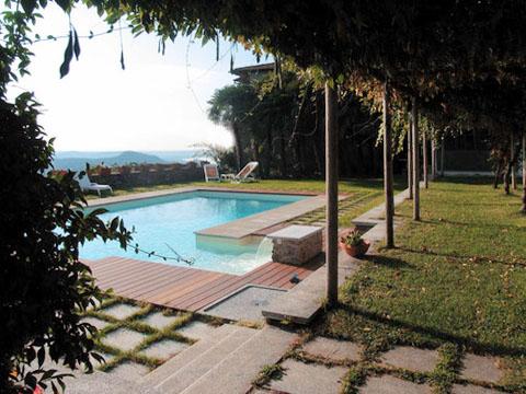 Bilder Ferienwohnung Mariucca_Azalea_757_Lesa_21_Garten in Lago Maggiore Piemont
