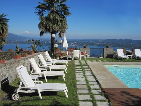 Bilder Ferienwohnung Mariucca_Camelia_754_Lesa_26_Panorama in Lago Maggiore Piemont