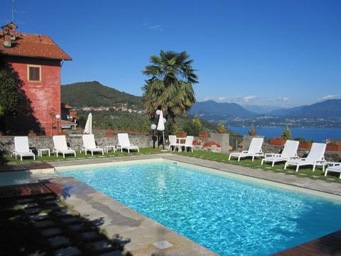 Bilder Ferienwohnung Lago Maggiore Mariucca_Magnolia_756_Lesa_15_Pool in Piemont