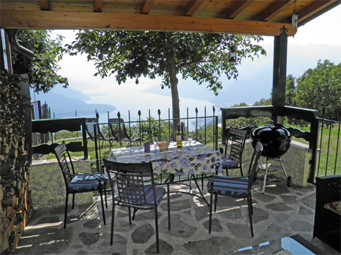 Picture of Lake Como apartment Melissa_Primo_Vercana_10_Balkon