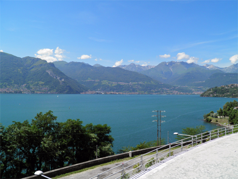 Bilder Ferienwohnung Mery__25_Panorama in Comer See Lombardei