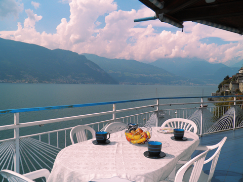 Picture of Lake Como apartment Miky_Dervio_10_Balkon