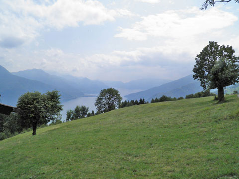 Bilder Ferienhaus Nadia_Peglio_25_Panorama in Comer See Lombardei