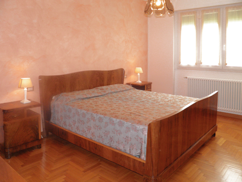 Bilder Ferienwohnung Comer See Nando_Musso_40_Doppelbett-Schlafzimmer in Lombardei