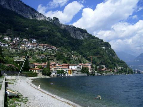 Bilder Ferienwohnung Nando_Musso_65_Strand in Comer See Lombardei