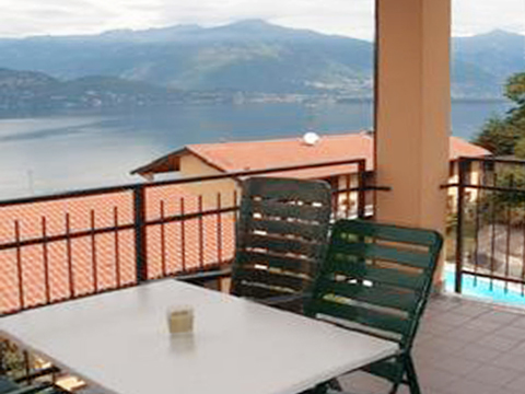 Picture of Lake Como apartment Nina_569_Pino_10_Balkon