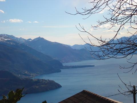 Bilder Ferienwohnung Nino_Naro-Gravedona_26_Panorama in Comer See Lombardei