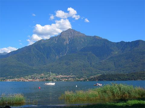Bilder Wellness Ferienwohnung Norenga_Domaso_25_Panorama in Comer See Lombardei