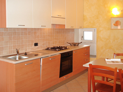 Foto van Appartement  Ortensia_secondo_Acquaseria_35_Kueche