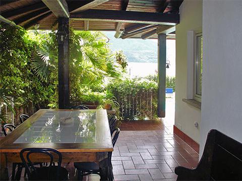 Bilder Villa Comer See Palazzetta_Domaso_11_Terrasse in Lombardei