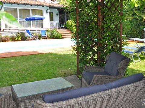 Bilder Villa Comer See Palazzetta_Domaso_20_Garten in Lombardei