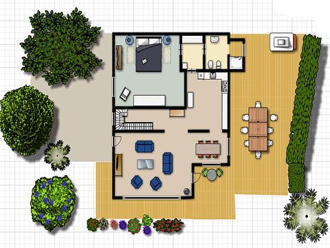Bilder Villa Comer See Palazzetta_Domaso_70_Plan in Lombardei